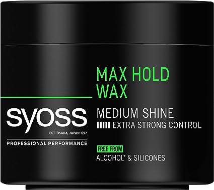 syoss Power de Wax Max Hold grados 5 de retención, megapotentes, 6 pack (6 x 150 ml): Amazon.es: Belleza