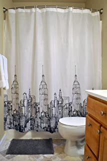 Dii Oceanique 5 Piece Bathroom Starter Set Includes 72x72 Shower Curtain 12