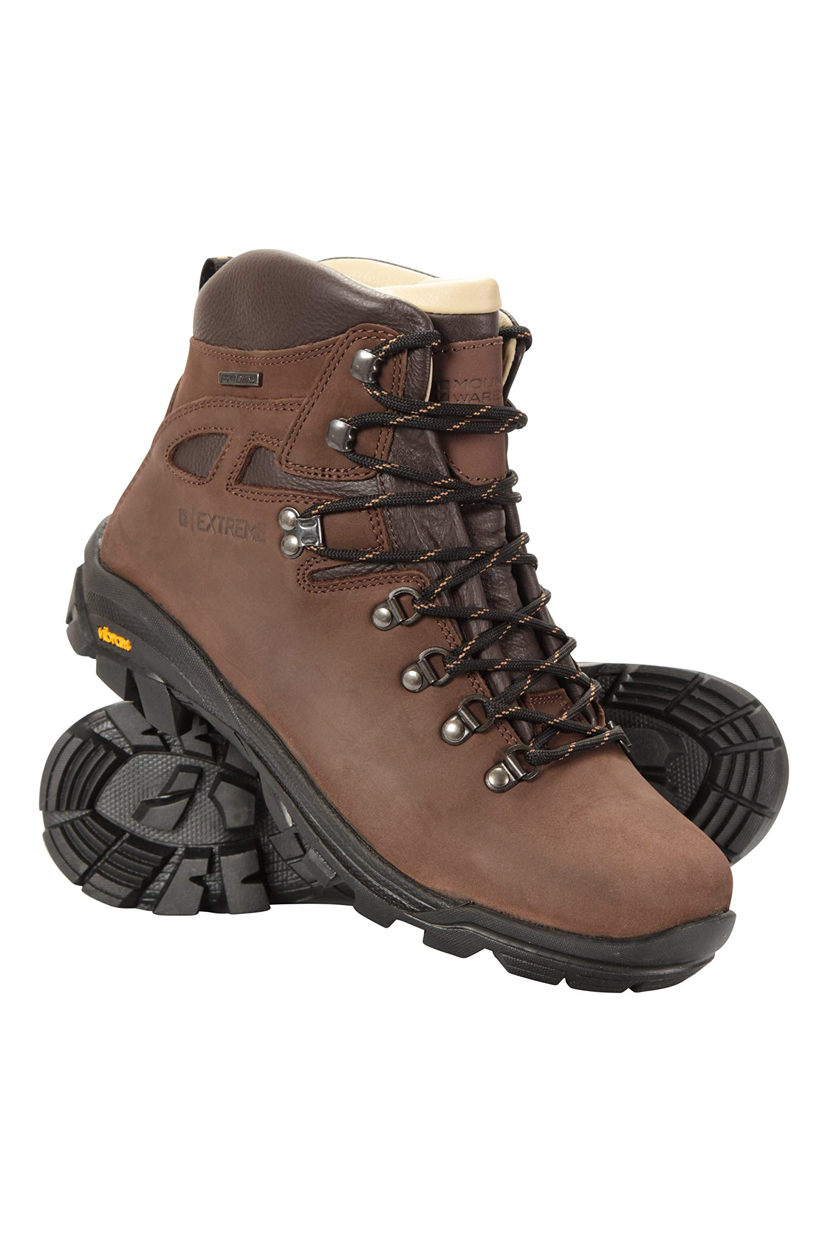 Excalibur Mens Waterproof Boots Breathable Walking Shoes Leather Upper Vibram Sole Hiking Boots Antibacterial For Travelling Walking Buy Online In Egypt At Desertcart Com Eg Productid 61470658