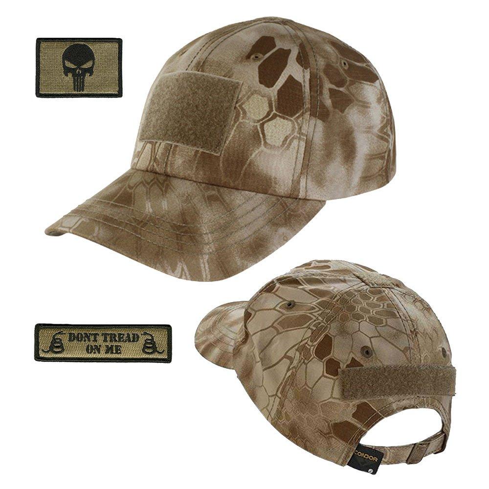 5fa4d1911106b Operator Cap Bundle - w Punisher Dont Tread Patches (Nomad Cap)