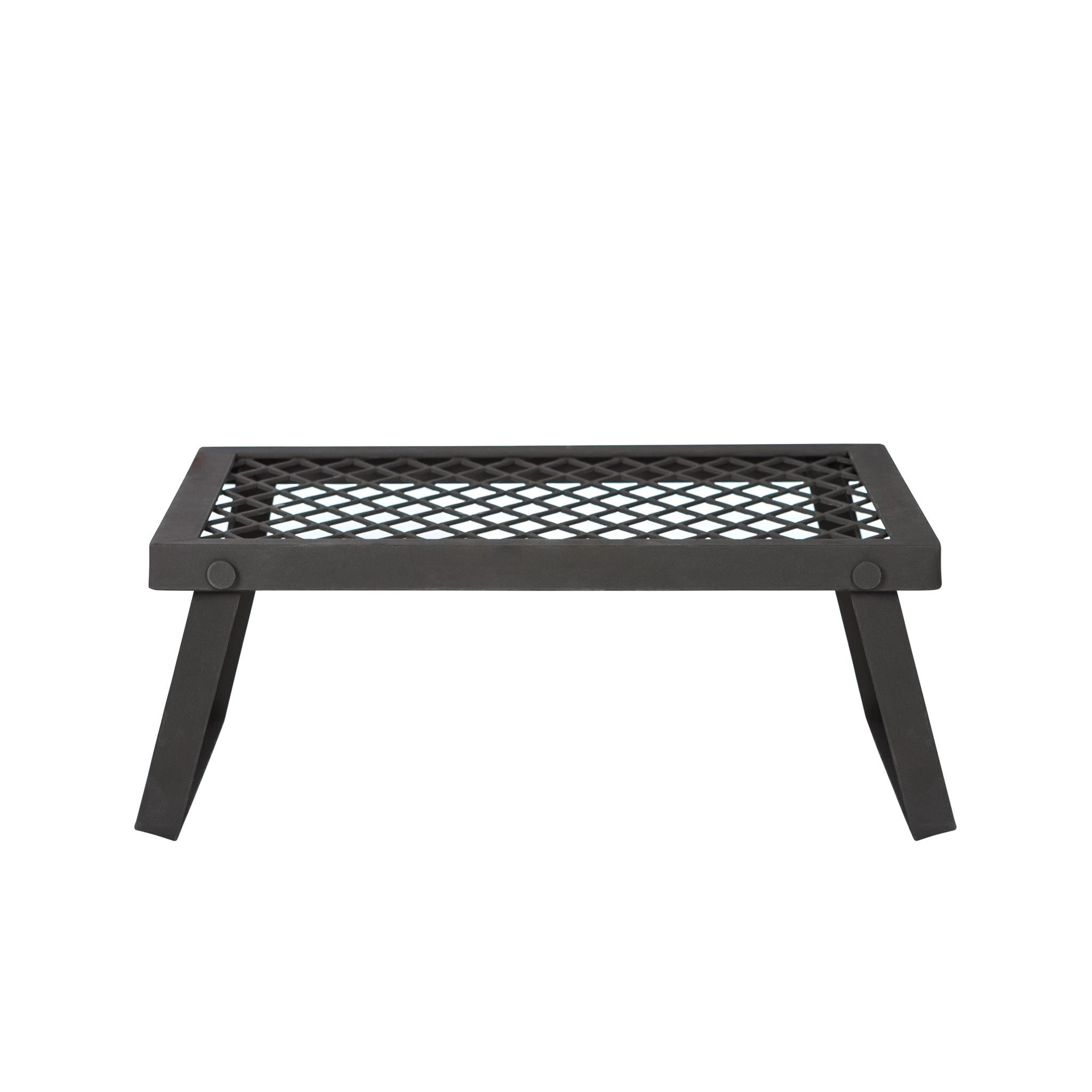Amazon Basics Portable Outdoor Folding Campfire Grill