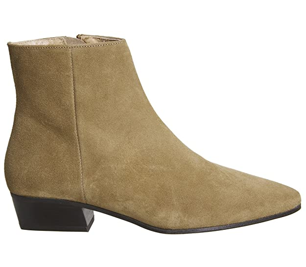 42d114be43c0 Office Andalucia- Casual Low Heel Boot Tan Suede - 7 UK  Amazon.co.uk  Shoes    Bags