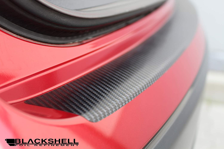 passgenaue Lackschutzfolie Einstiegsleisten Set inkl Premium Rakel f/ür Auris 1 E150 2006-2012 Carbon Matt Auto Schutzfolie BLACKSHELL Ladekantenschutz