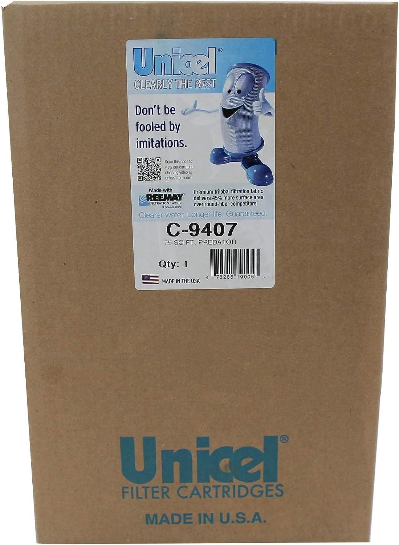 2 Unicel C-9407 Pentair Clean Clear Predator 75 Sq Ft Filter Cartridges R173214