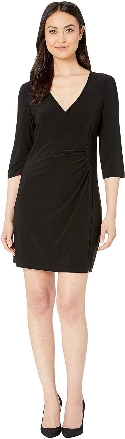 Laundry by Shelli Segal Women's Faux Wrap Dress