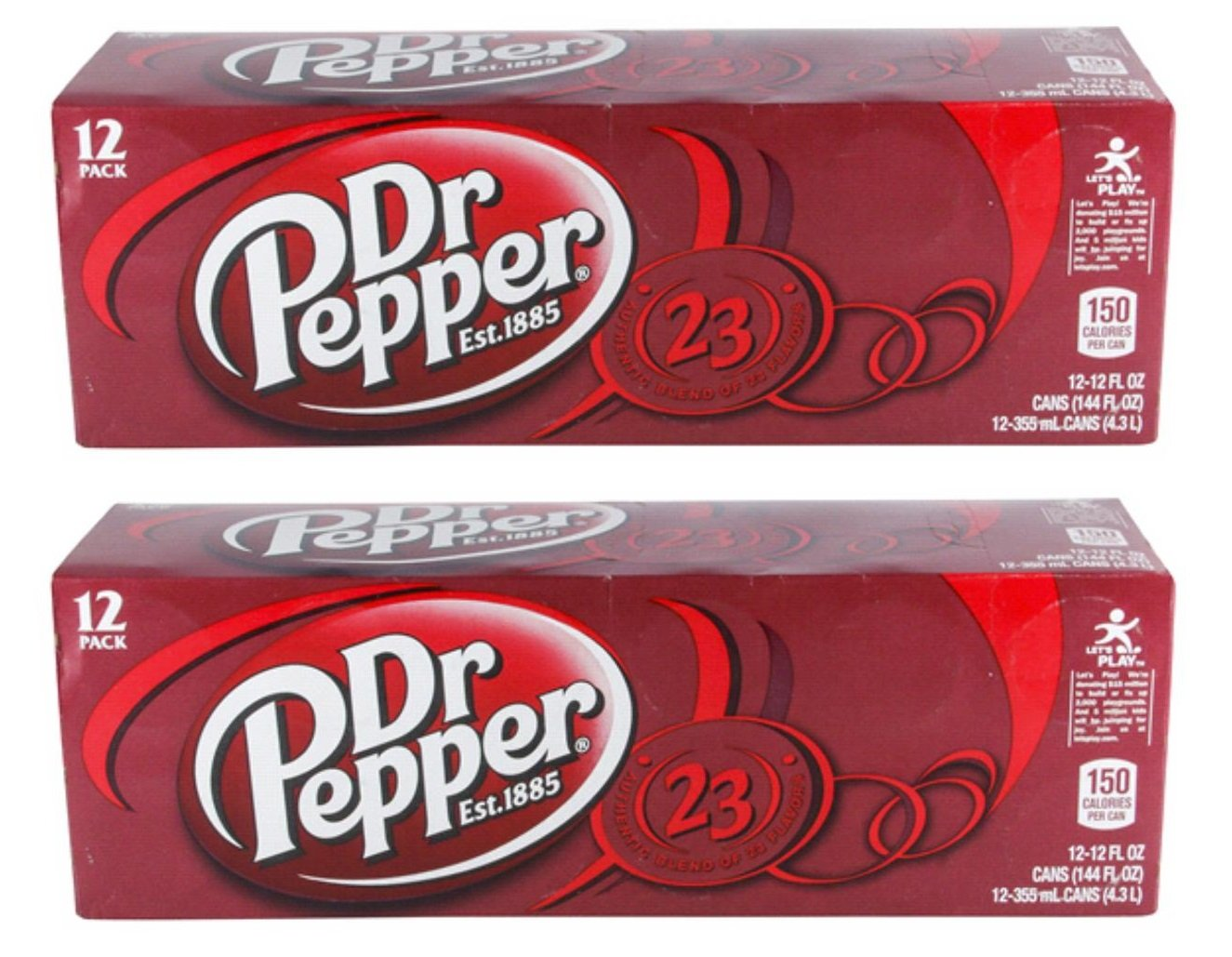 Dr Pepper Soda, 12 Ounce (24 Cans)