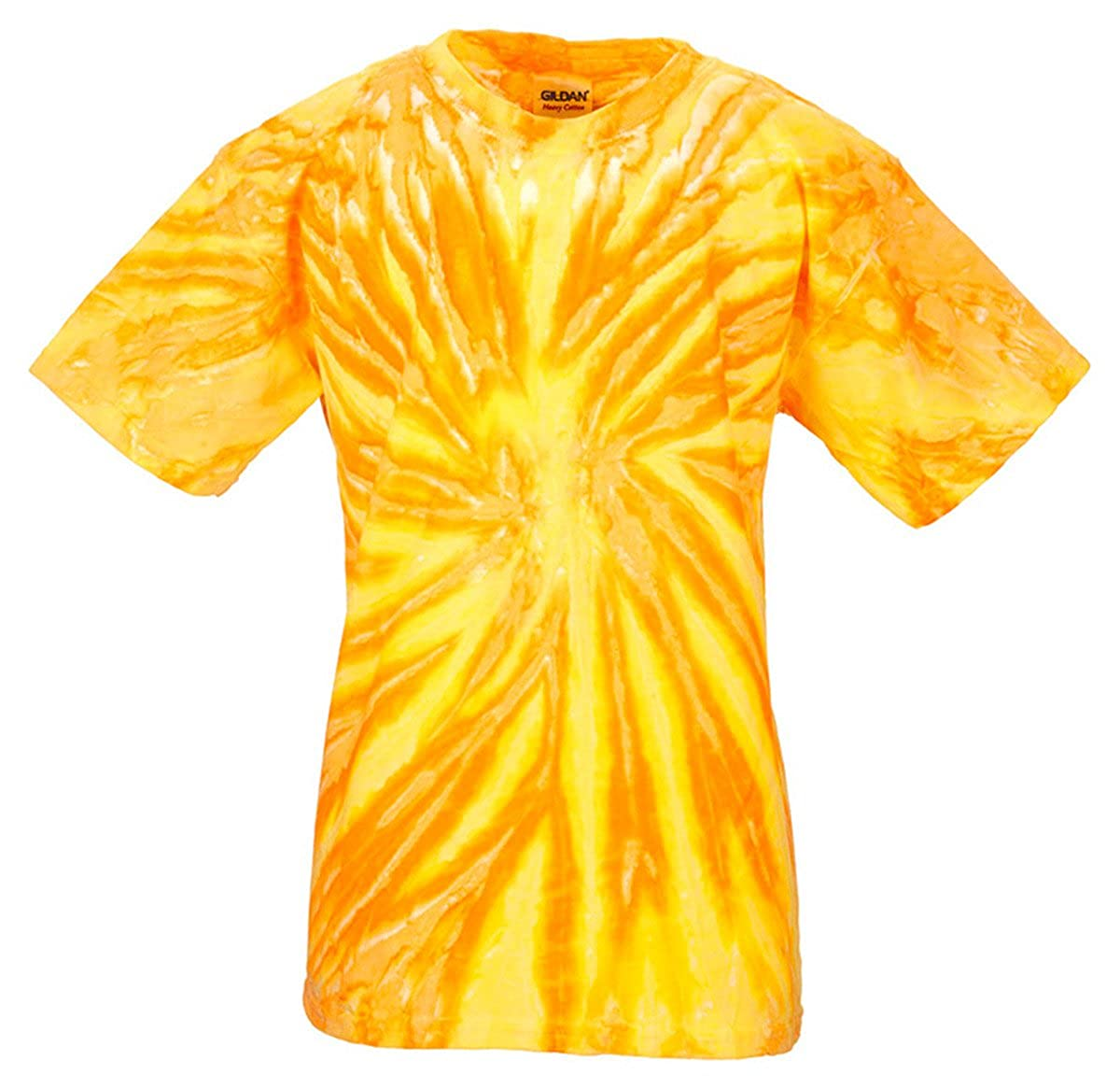 Tie Dye H1100B Youth Twist Tie-Dyed Tee Pineapple44; Large