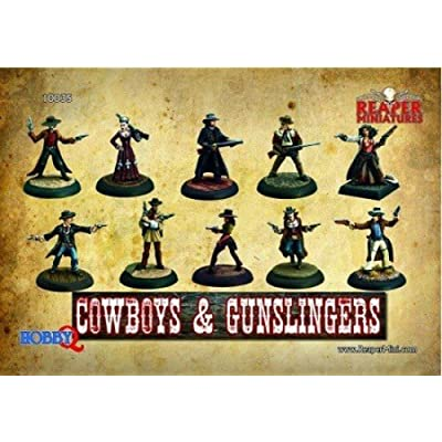 Reaper Miniatures: Cowboys & Gunslingers: Toys & Games