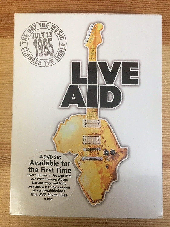 Live Aid (4 Disc Set): Amazon.es: Cine y Series TV