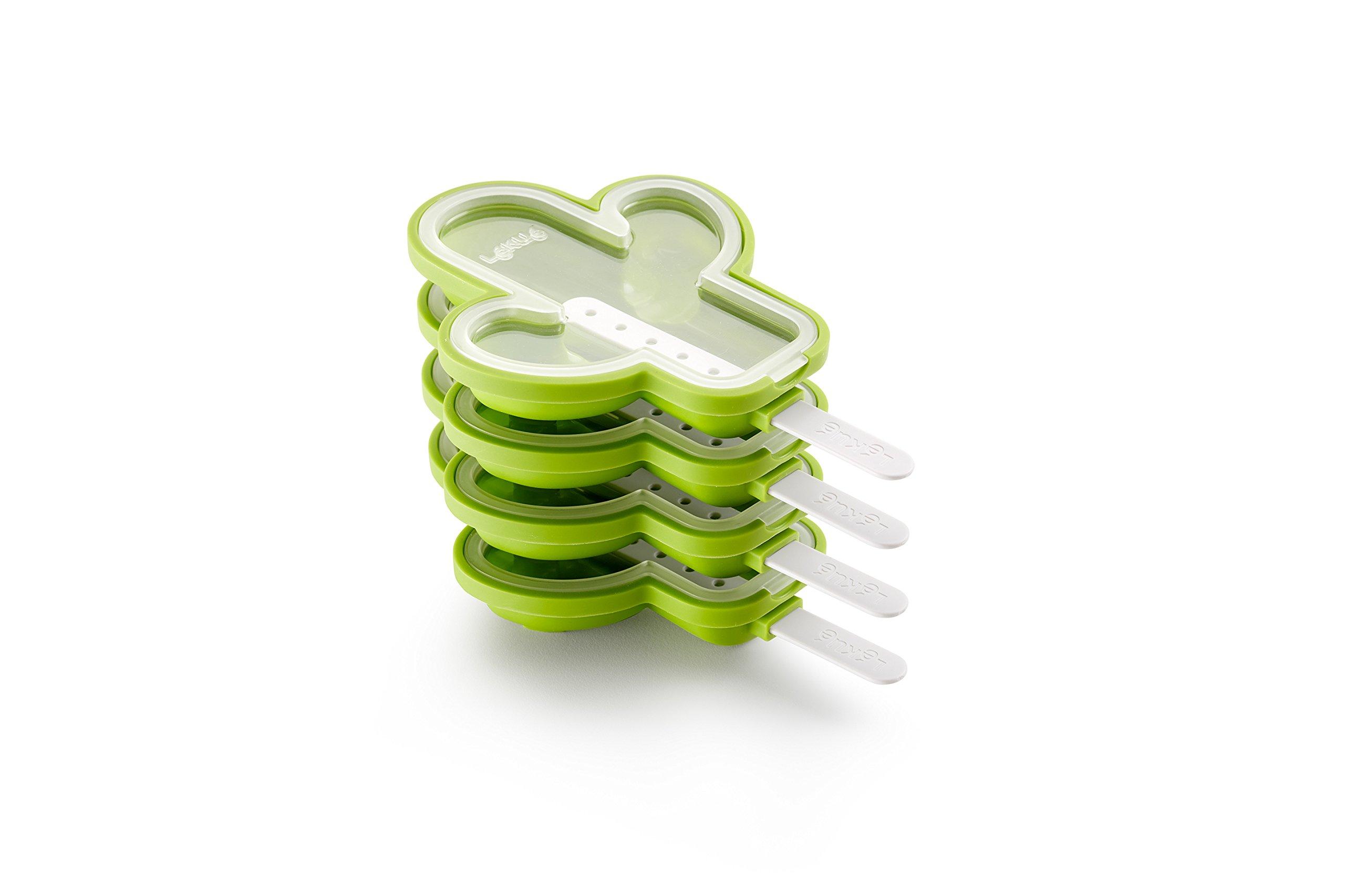 Lekue 3400264S01U150 Cactus Ice-Cream Mold, Green
