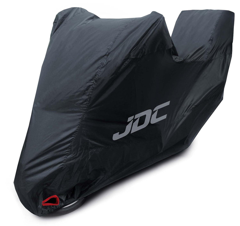 JDC Funda Moto 100/% Impermeable Resistente, Forro Suave, Paneles Resistentes al Calor, Costuras Selladas Ultimate Heavy Duty