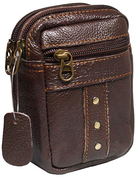Para hombre funda de piel cartera de cintura cinturón bolsa Pitillera rolendio 0996: Amazon.es: Ropa y accesorios