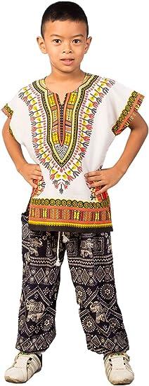 Kids Dashiki Shirt