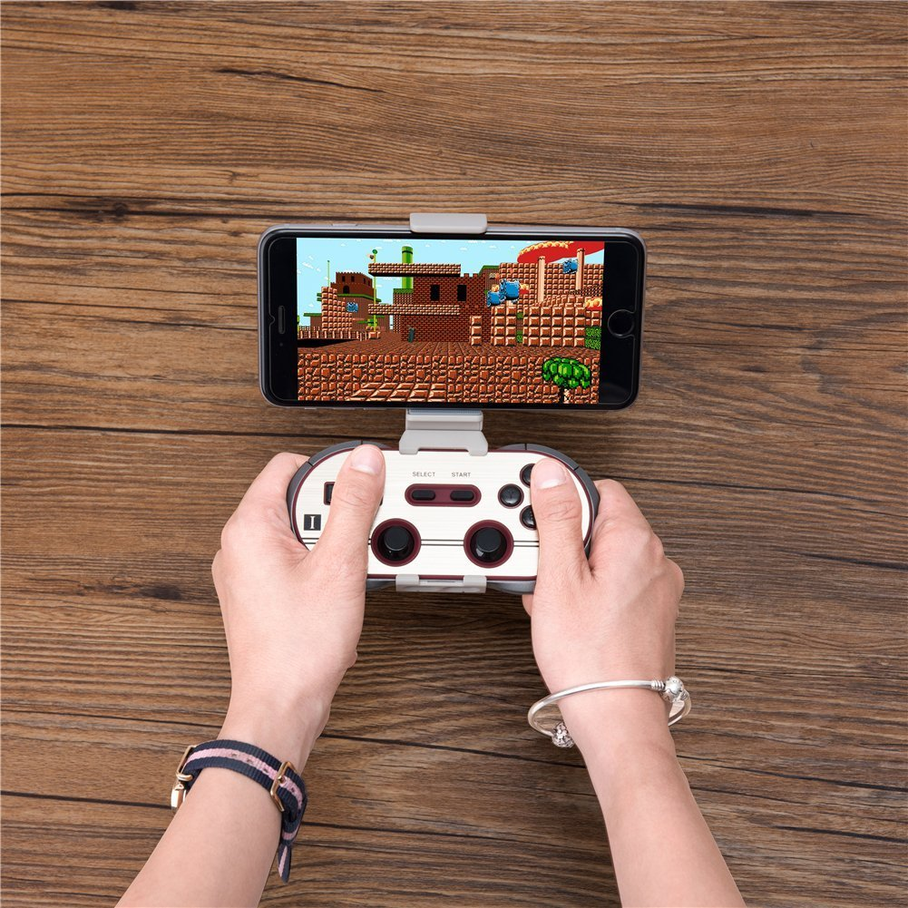 8Bitdo F30 Pro Wireless Bluetooth Controller Game Gamepad Retro Styled for Android / MacOS / Windows by RunSnail (Image #7)