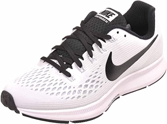 Nike Womens WMNS Air Zoom Pegasus 34 TB, WhiteBlack Size 5 US