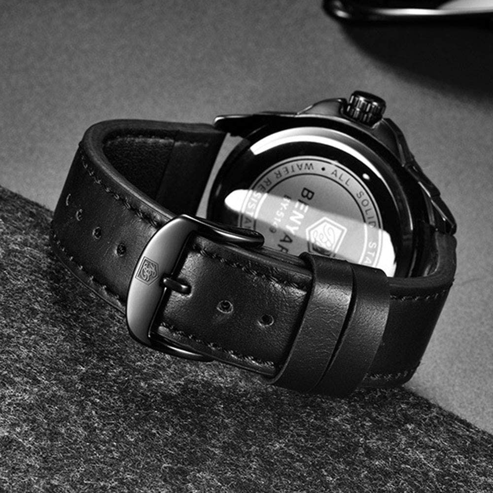 Z-sbiao Mens Full Steel Quartz Lumineux Montre De Mode Casual Business Dress Montres Étanche Date Affichage Cadeau,1 1