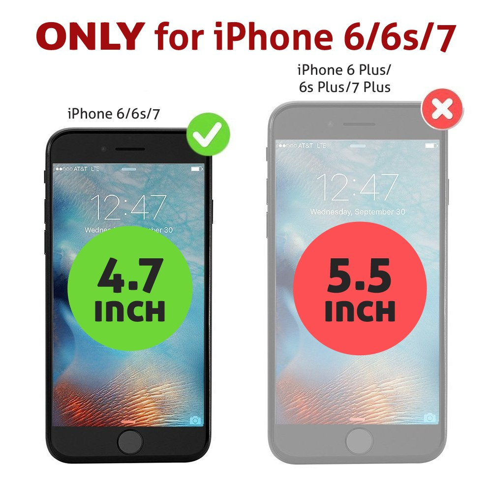 Amazon.com: iPhone 6 / 6s / 7 Battery Case, BECKER ™ Ultra ...
