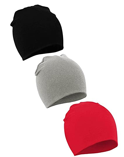 Amazon.com  Baby Boys Hat Kids Cool Knit Beanie Hats Toddlers Caps 3 ... f7a02a9e7bd