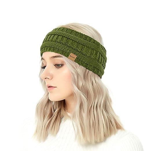 Amazon.com  Winter SWISSELITE Warmer Headband Head wrap Hat Cap ... e97dcc851c5