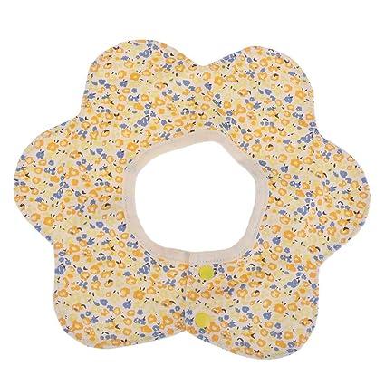 Everpert - Toalla de saliva para bebé, 4 capas, algodón, rotación de 360