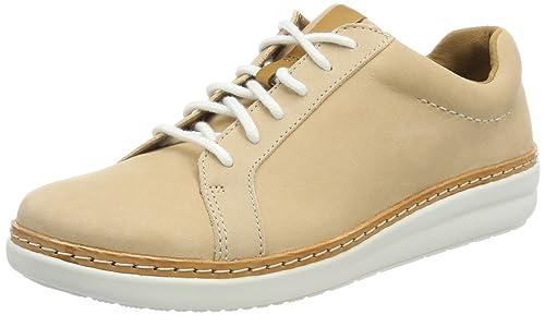 ab72ef34b81 Clarks Women s s Amberlee Rosa Low-Top Sneakers  Amazon.co.uk  Shoes ...