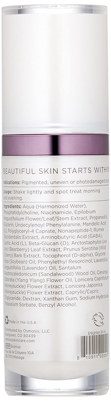 Amazon.com: Osmosis Skincare Enlighten Pigment-fading Serum ...