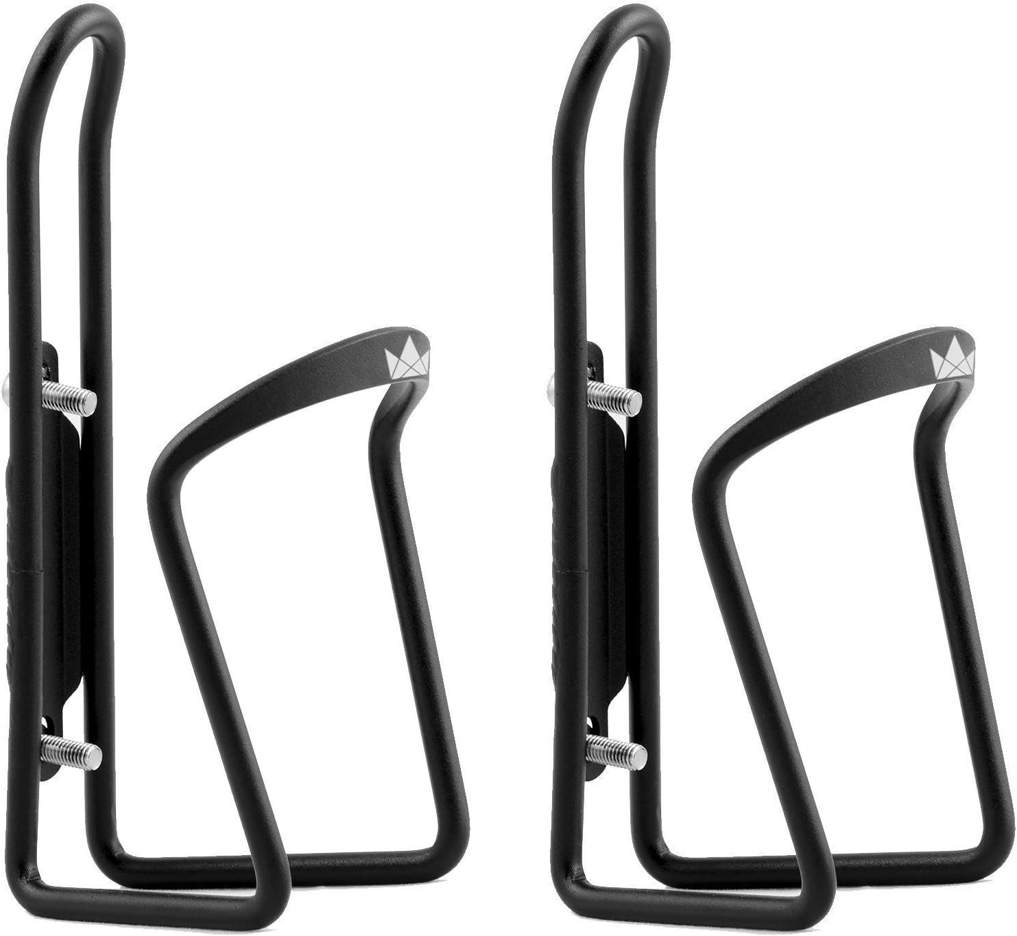 The Friendly Swede Alloy Bicycle Water Bottle Holder Cage 2 Pack