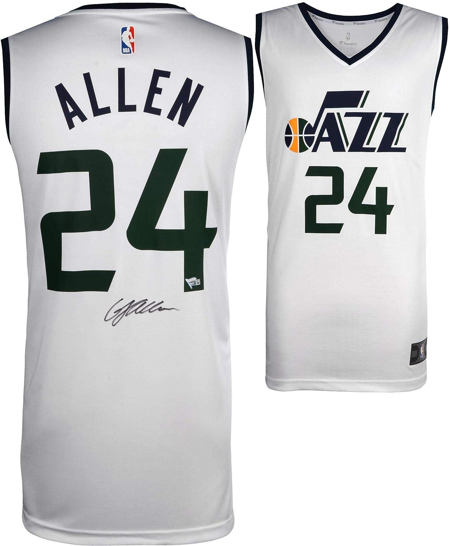 Grayson Allen Utah Jazz Autographed Fanatics White Fastbreak Jersey - Fanatics Authentic Certified - Autographed NBA Jerseys