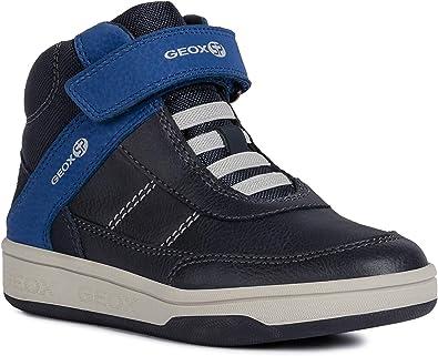   Geox Boys' Maltin 20 HIGH TOP Sneaker Laces
