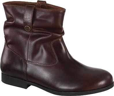 6dd87a39874 Amazon.com   Birkenstock Women's Sarnia Waxed Suede Boot   Ankle & Bootie