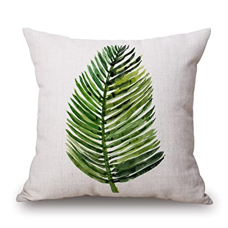 Amazon.com: EsyDream 4-Pack Tropical Cushion Cover for Couch ...