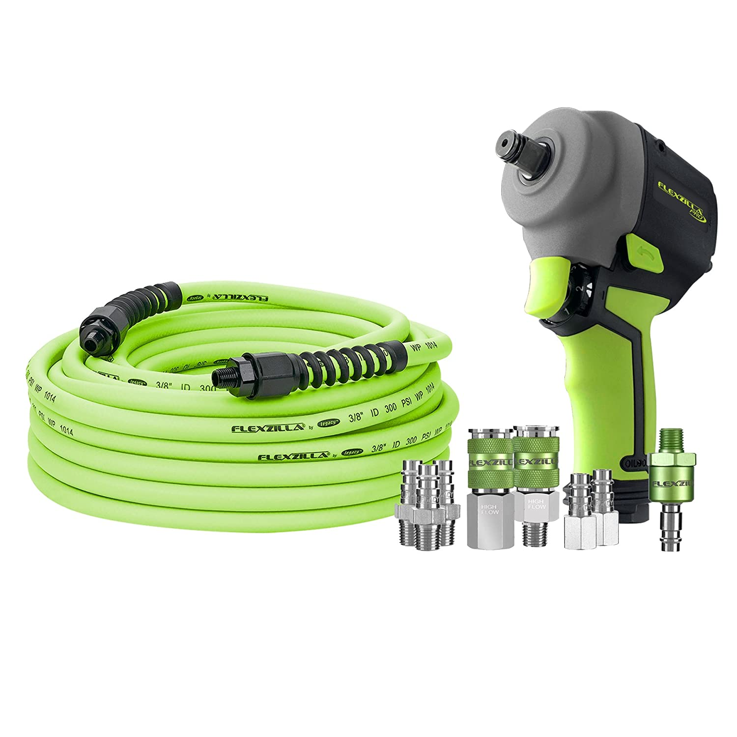 Flexzilla AT8505FZ Mini Impact Wrench Kit