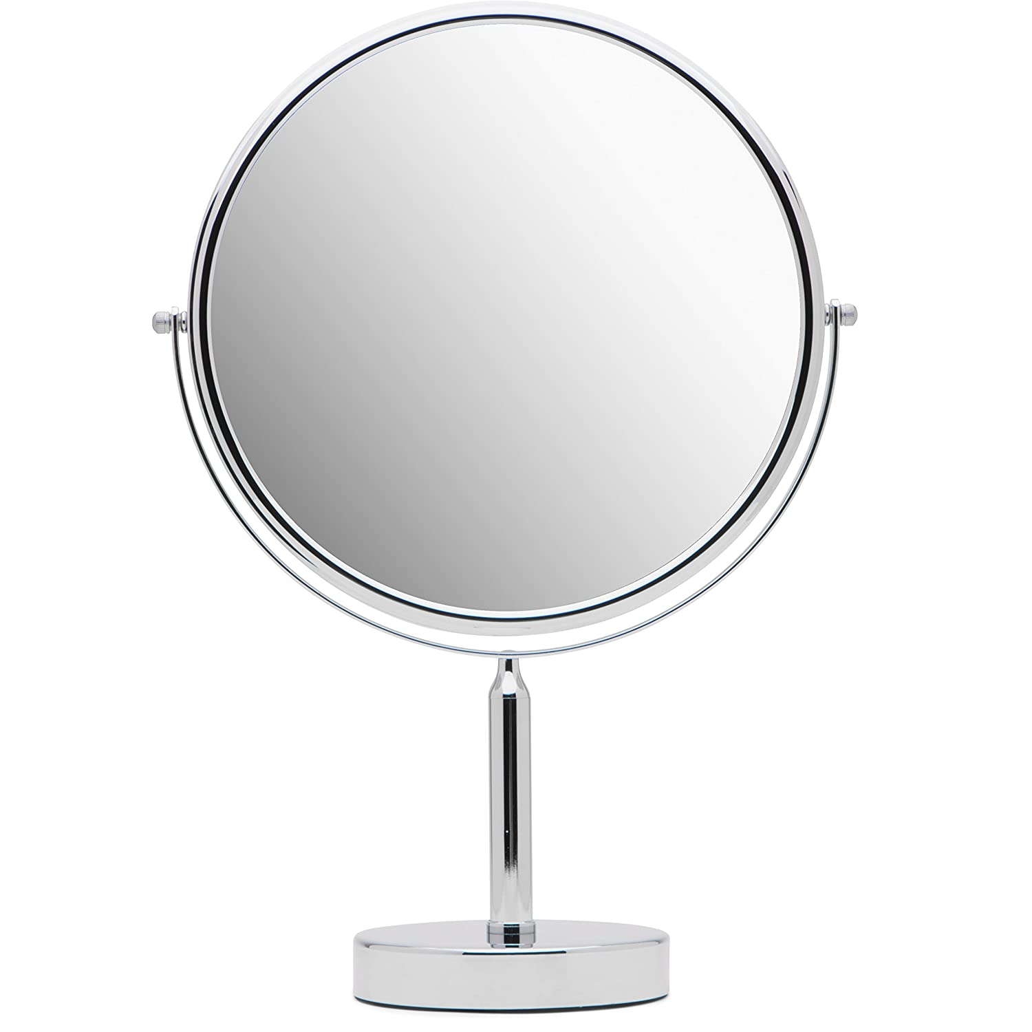 Mirrorvana XXLarge 11-Inch Massive Magnifying Makeup Mirror | Double-Sided 1X & 3X Magnification for Vanity Countertop …