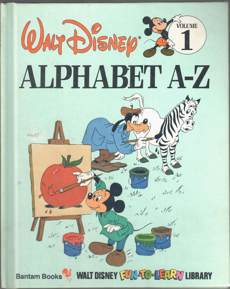 Alphabet A Z Disney S Fun To Read Library Vol 1 Walt