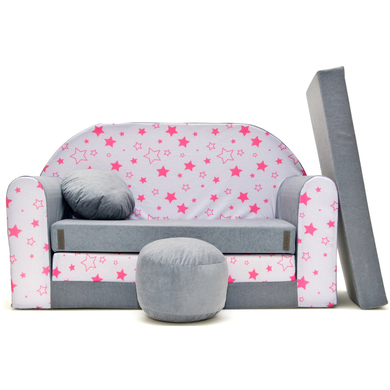 A40 Kinder Sofa Couch Schlafsofa Kinderzimmer Bett gemütlich ...