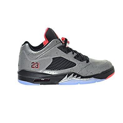 35254918213 Air Jordan 5 Retro Low Neymar Men s Shoes Silver Infrared 23 Black 846315-