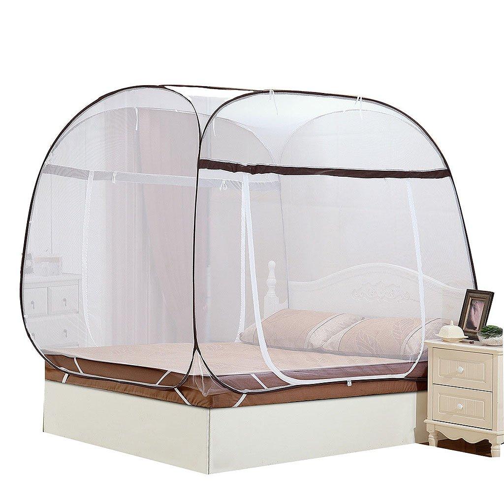 Moskito-Netze Yurt Collapsible Einfach, für Haus 4ft/6ft Bett-Schlafzimmer-Zubehör zu installieren