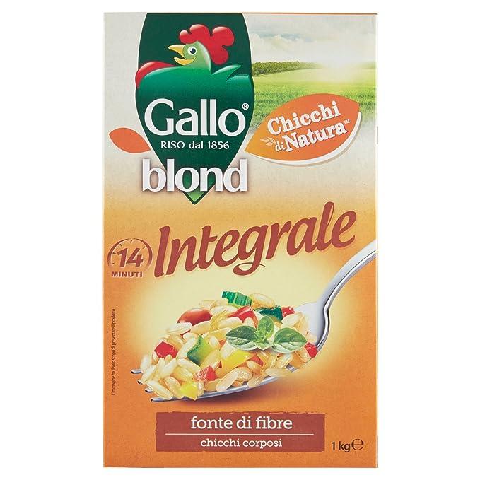4 opinioni per Gallo- Blond, Integrale Chicchi Corposi e Ricchi di Gusto- 1000 g