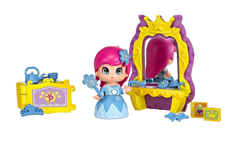 Pinypon - Princesa con Espejo mágico (Famosa 700012736) Pin y Pon Pin&Pon minimuñecas