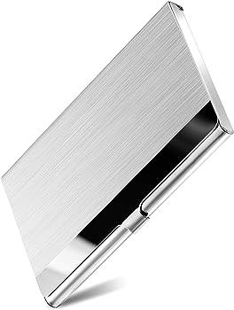 MaxGear Professional Metal Business Card Holder