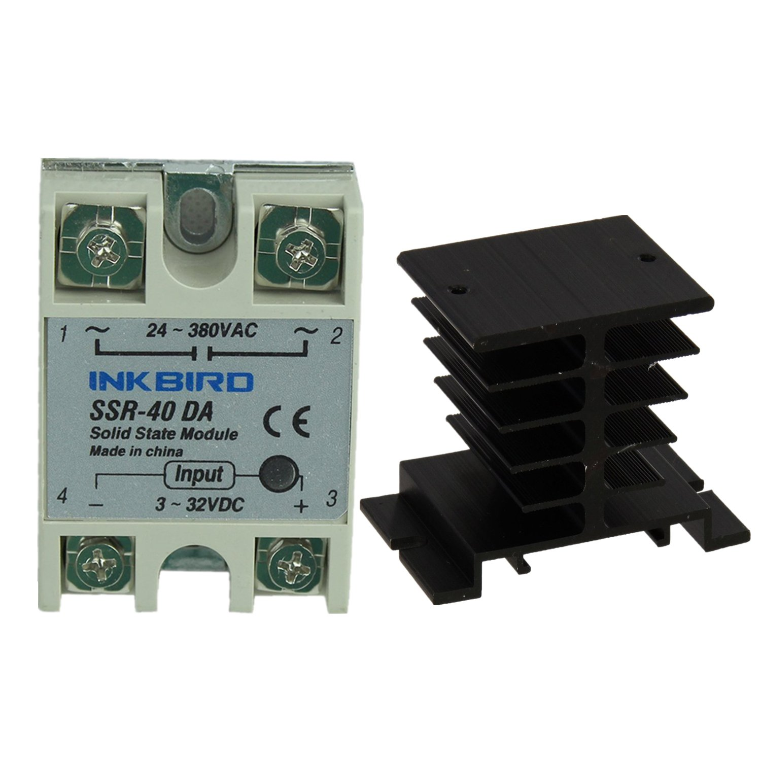 Best Rated In Solid State Relays Helpful Customer Reviews Using An Scr Relay Combination This Circuit Can Be Made To Cut Off Inkbird Ssr Heat Sink 40da Black