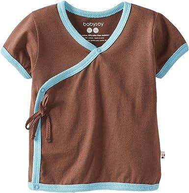 Babysoy Long Sleeve Kimono Layering Tee
