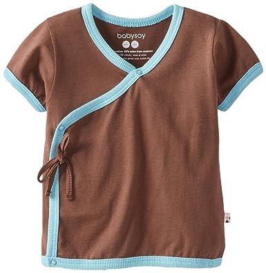 Amazon Com Babysoy Unisex Baby Kimono Tee Infant And Toddler T