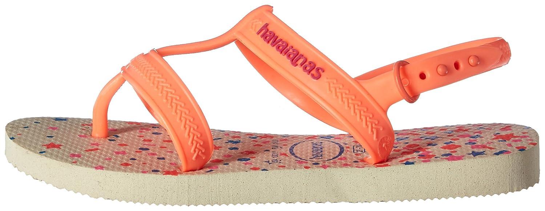 Havaianas Girls Flip Flop Sandals 4135036-0642-234 Joy Gladiator, Toddler//Little Kid