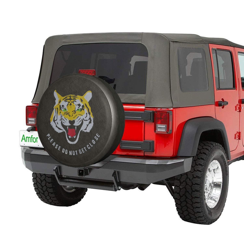 RV YBB Waterproof Reserveradabdeckung Anh/änger staubdicht Radreifenabdeckung f/ür Jeep LKW und mehr SUV