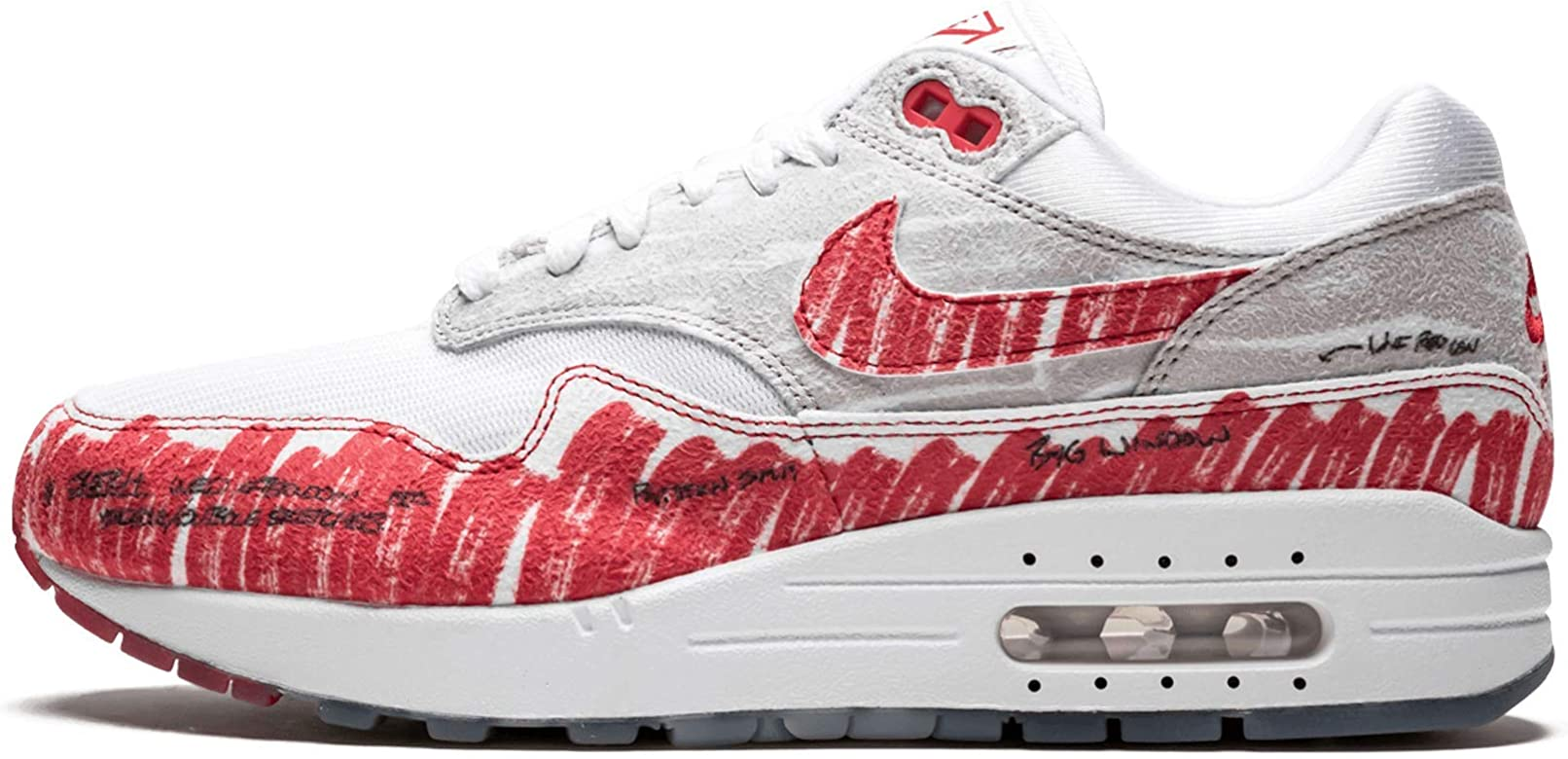 | Nike Air Max 1 Tinker (WhiteUniversity Red 7
