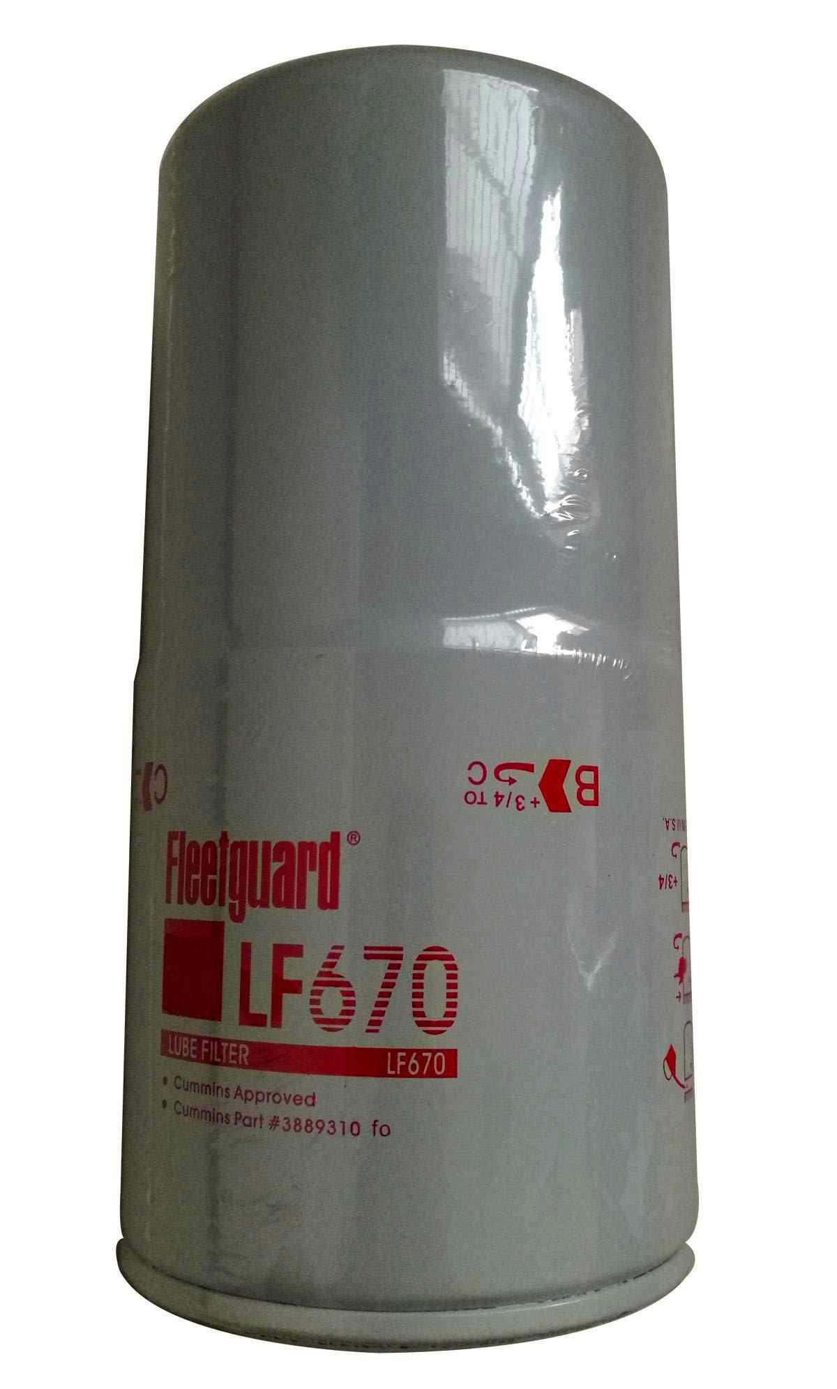 Fleetguard LF670 Oil Filter by Cummins Filtration
