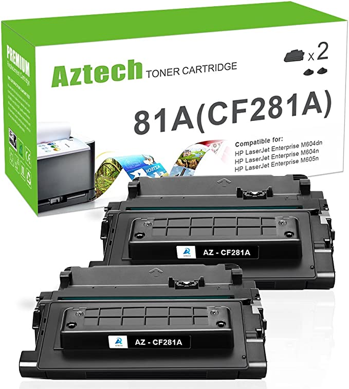 LD Compatible Toner Cartridge Replacement for HP 81A CF281A Black