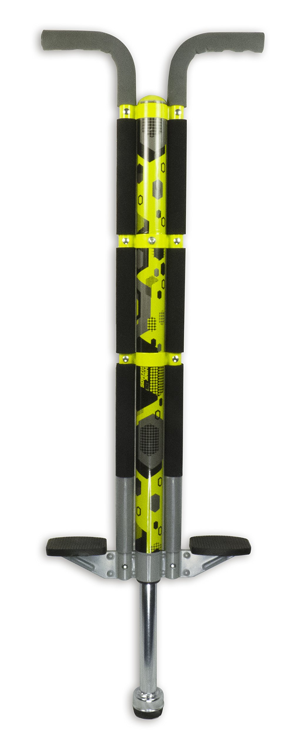 Think Gizmos Pogo Stick For Riders 80lbs To 160lbs - Aero Legend Pogo Stick For Boys & Girls (& Light Adults) - Quality Solid ConstructionBy ThinkGizmos (Yellow & Black)