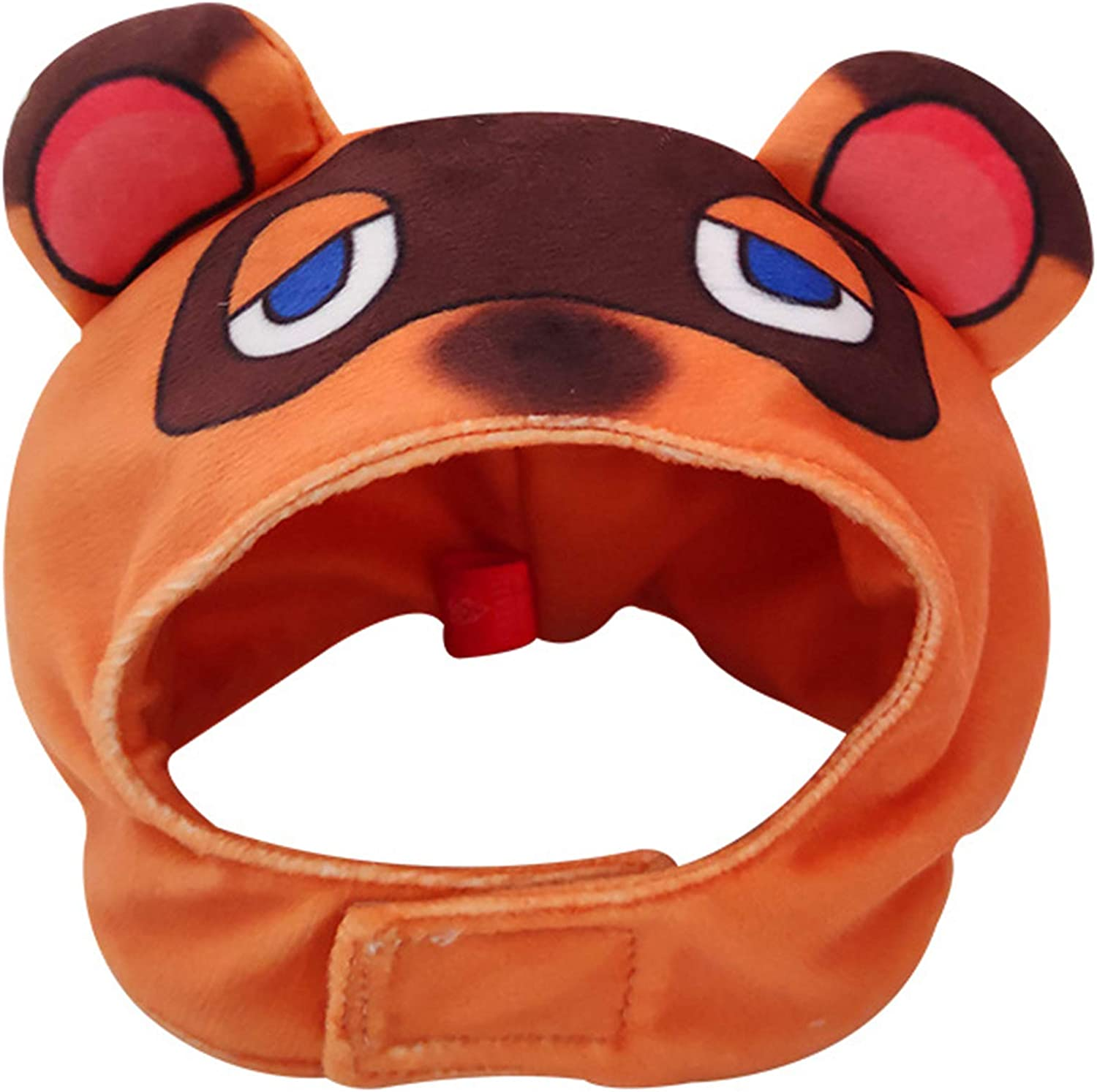 Amazon Com Lopbraa Tom Nook Hat For Cat Small Dog Pet Headwear Tom Nook Costume Hats Cat Caps Accessories Pet Supplies